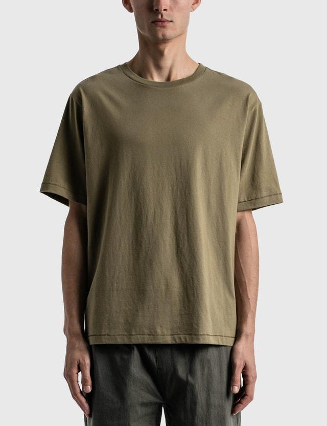 Satta Organic Cotton T-Shirt Olive Men