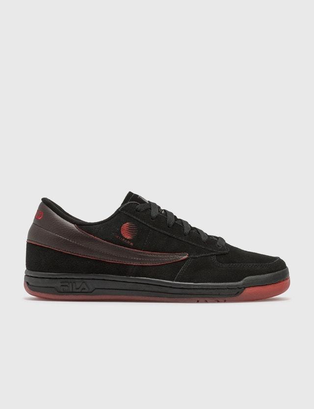 Hellrazor Hellrazor X Fila New World Original Tennis Sneaker Black Men