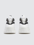 MSGM Chucky Low Top Sneaker White + Black Women