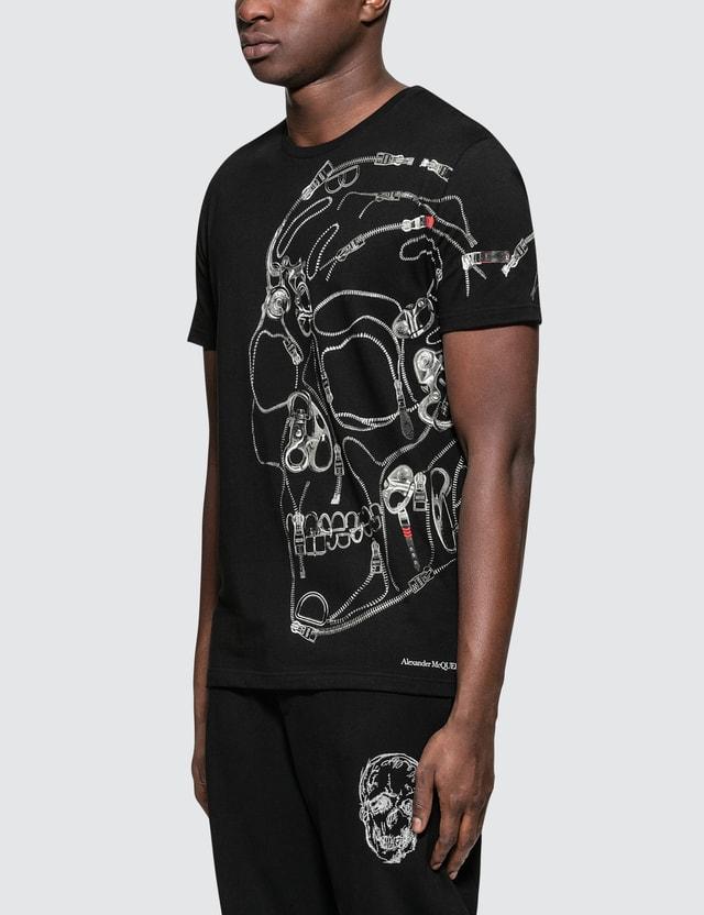 Alexander McQueen Hardware Skull Print S/S T-Shirt