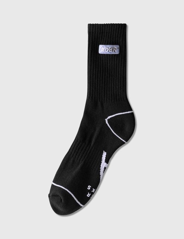 Ader Error Small Lenticular Logo Socks