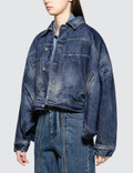 Diesel Red Tag Jean Jacket