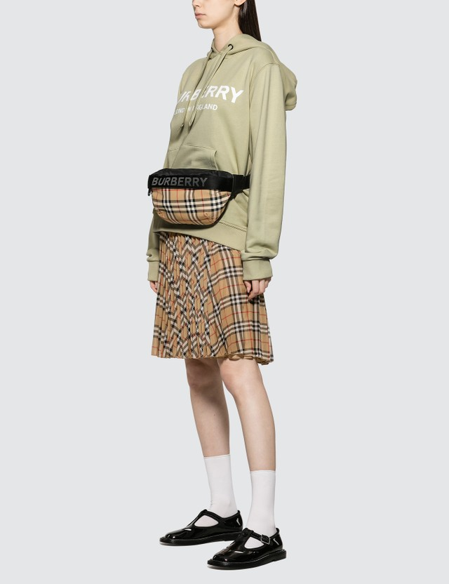 Burberry Burberry Vintage Check Pleated Skirt