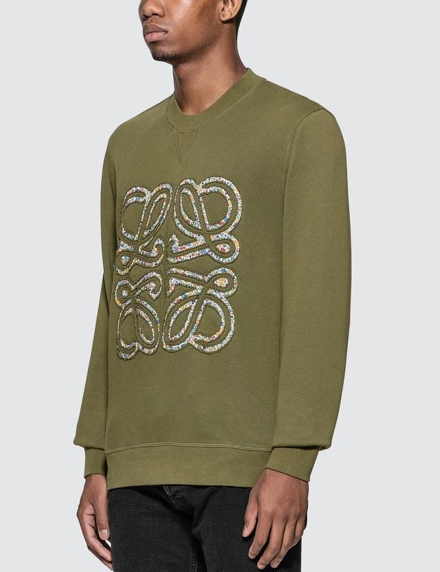Loewe Flower Anagram Sweatshirt