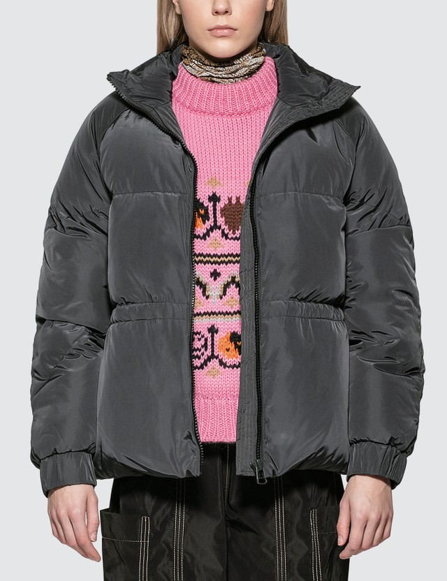 Ganni Tech Puffer Down Jacket