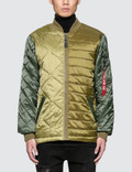 Alpha Industries Ally Bomber Jacket Picture