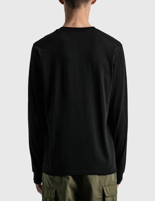 Carhartt Work In Progress Pocket Long Sleeve T-shirt Black Men