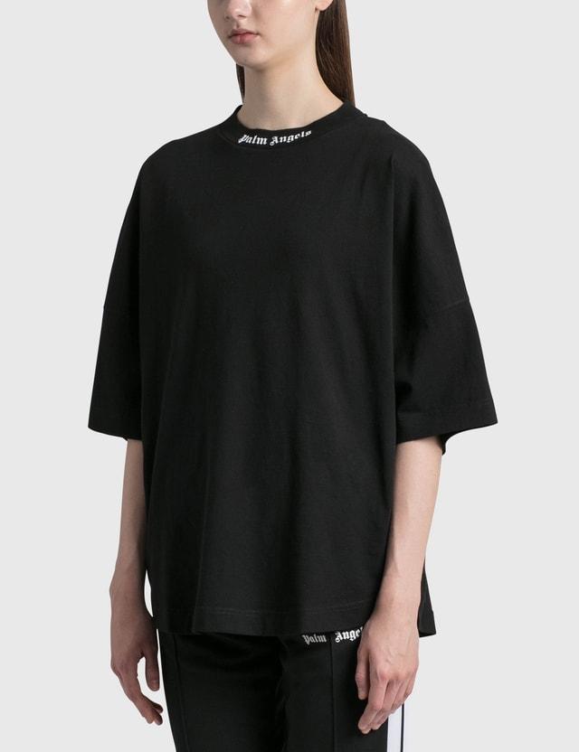 Palm Angels Classic Logo Over T-Shirt Black Women