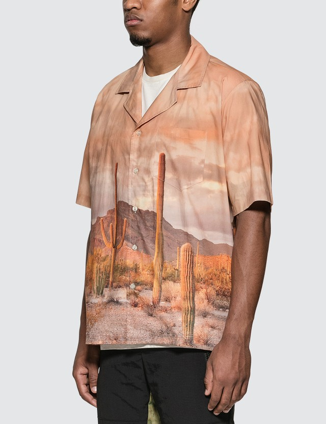 Rhude Cactus Bowling Shirt