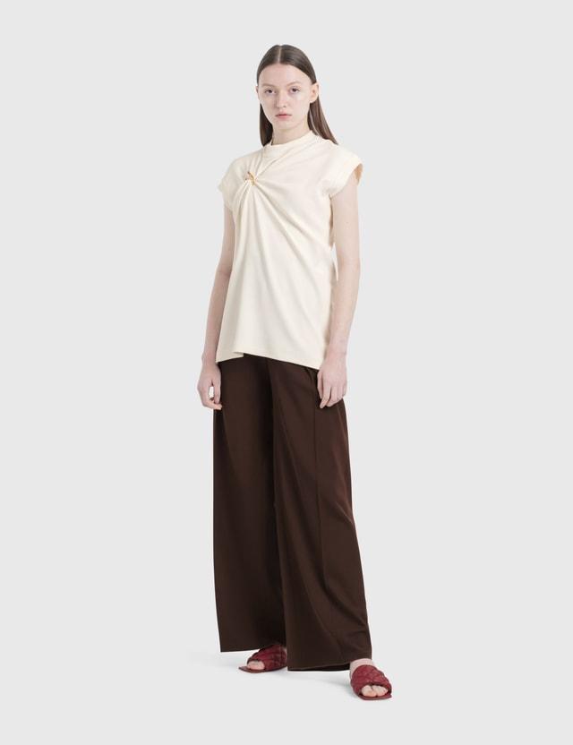 Bottega Veneta Long Pants Black Women