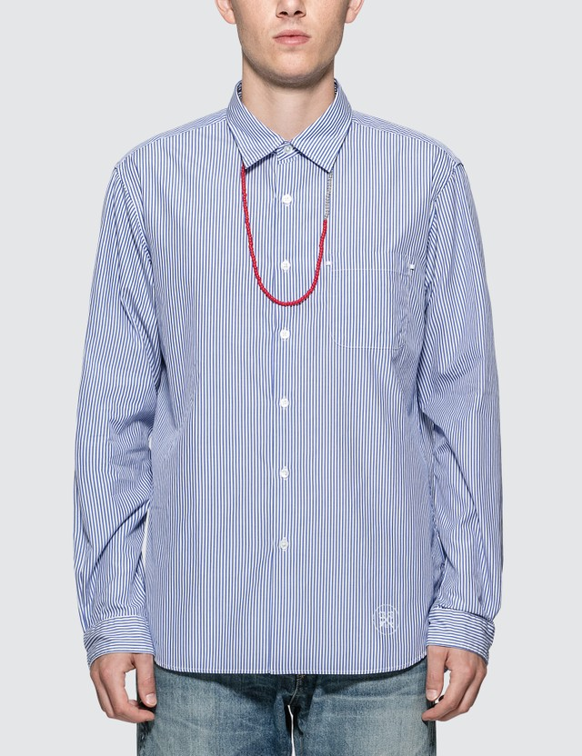 uniform experiment Beads Code Regular Collar Shirt
