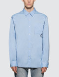 Denim By Vanquish & Fragment Icon Broadcloth L/S Shirt Picture