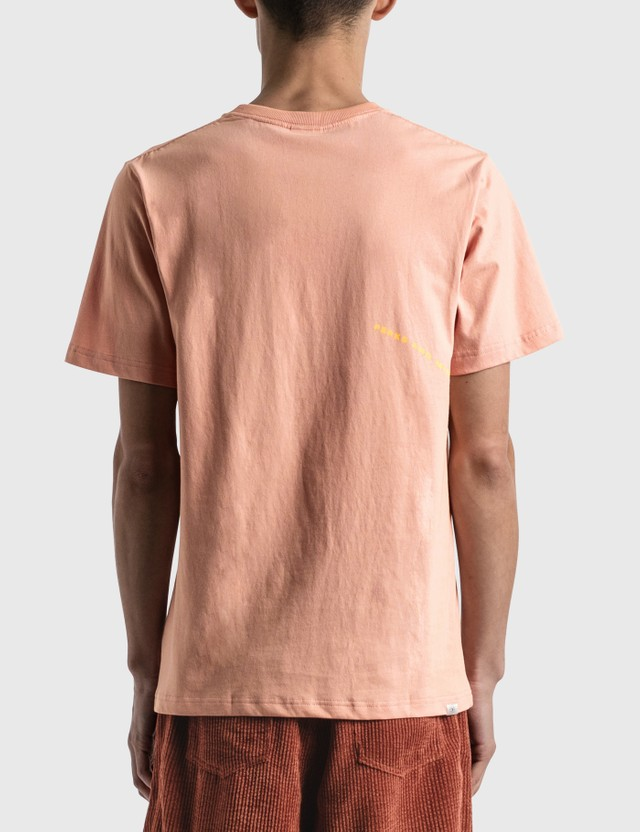 Perks and Mini Friendly Gesture And Logo Print T-shirt Himalayan Salt Men