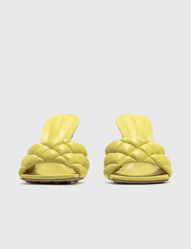 Bottega Veneta Padded Sandals In Nappa Pear Women