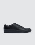 Lanvin Low Top Sneaker Bullskin And Smooth Calf Picutre