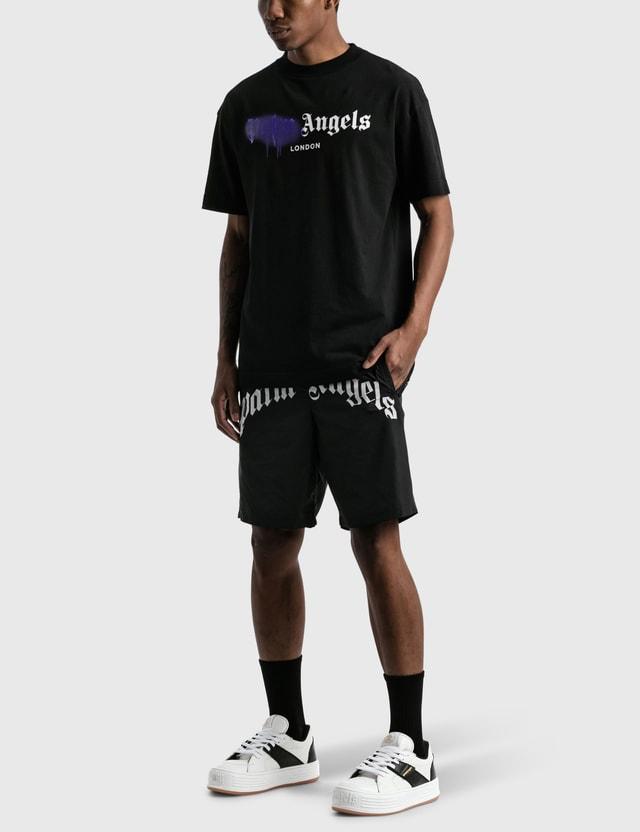 Palm Angels London Sprayed T-shirt Black Men