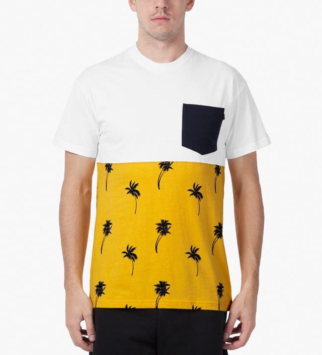 10.Deep White Chaos Pocket T-Shirt