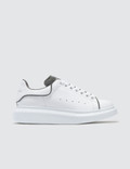 Alexander McQueen Raised-sole Low-top Leather Trainers Picutre