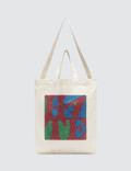 "Medicom Toy Sync.-D*FACE ""Hate"" Herringbone 2way Tote Bag Picture"