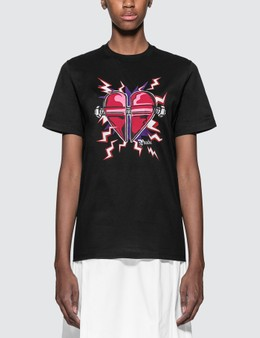 Prada Printed Heart T-shirt