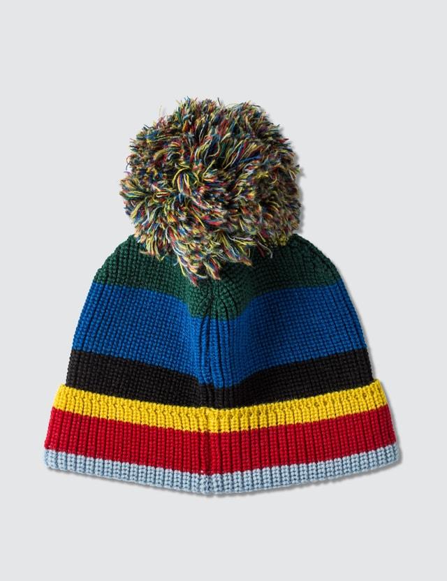 Loewe ELN Stripe Knit Beanie
