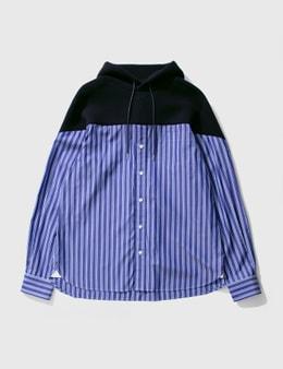 Sacai Cotton Shirt Hoodie