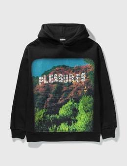 Pleasures Pleasurewood Studded Hoodie