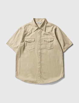 BAPE Bape Embroidery Batch Military Shirt