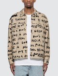 Polar Skate Co. Sad Notes Jean Jacket Picutre