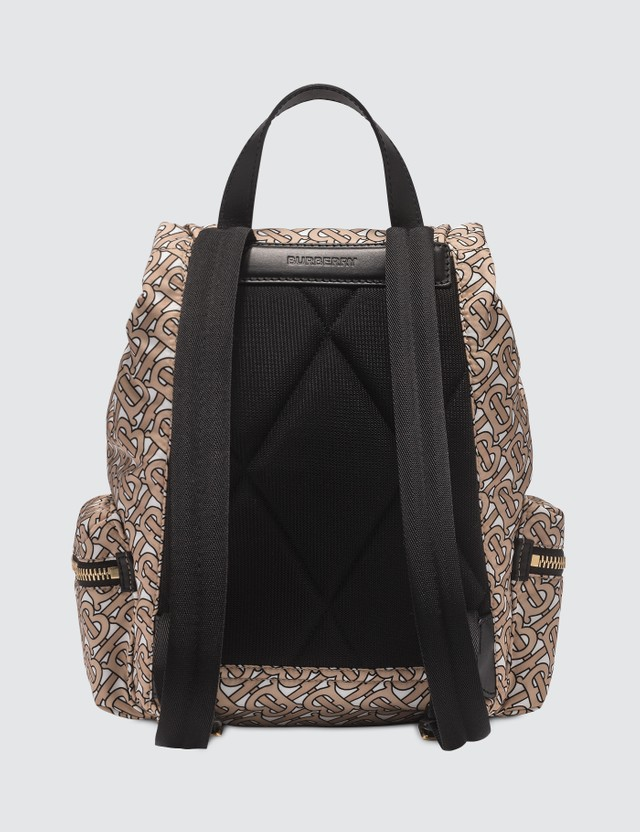 Burberry The Medium Rucksack in Monogram Print Nylon