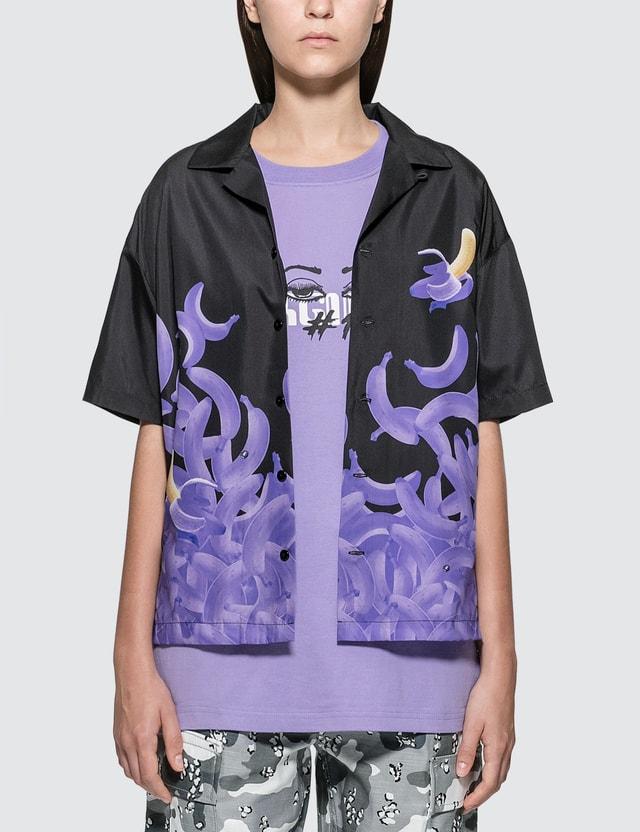 X-Girl #1 Banana Gradation Short Sleeve Shirt