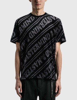 Mastermind World Velour Diagonal T-shirt