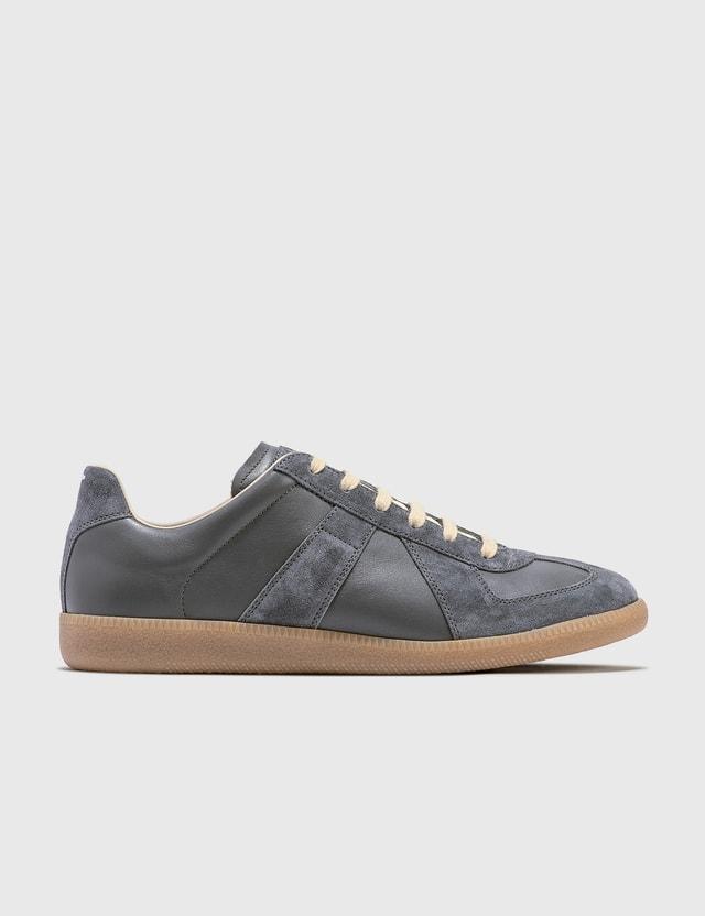 Maison Margiela Crosta Replica Low Top Sneaker Schist / Gunmetal Men