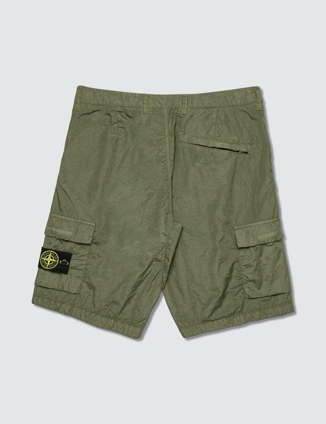 Stone Island Cargo Bermuda Shorts