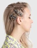 Ashley Williams XXXL Hair Clip Silver Women
