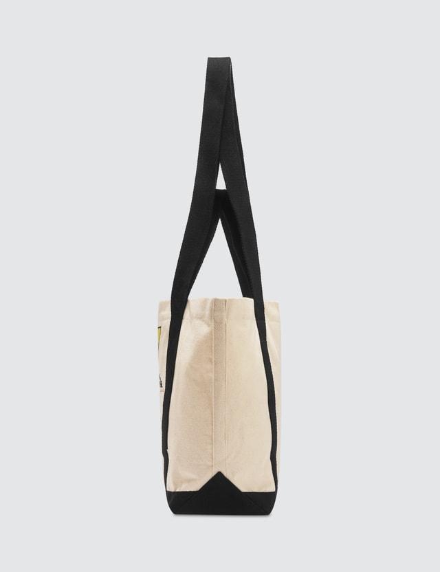 Maison Kitsune Triangle Fox Small Toe Bag