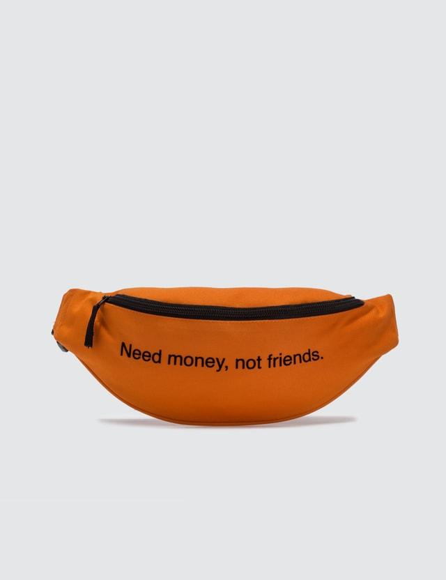 Fuck Art, Make Tees Need Money Not Friends. Bum Bag