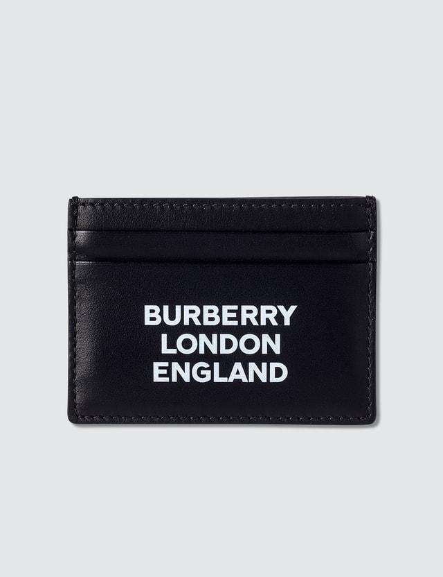 Burberry Logo Printed Card Holder