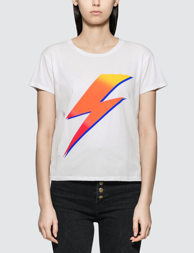 Mother Bolt Short Sleeve T-shirt White Women