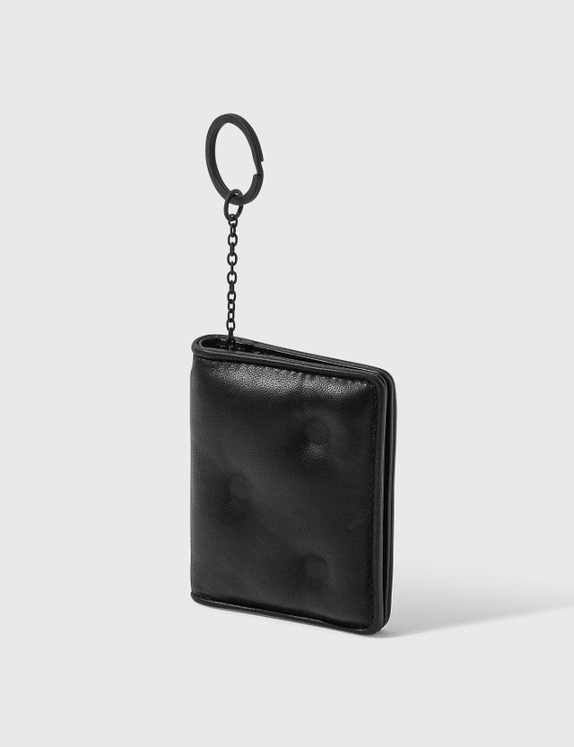 Maison Margiela Glam Slam Card Holder With Key Ring T8013 Black Men