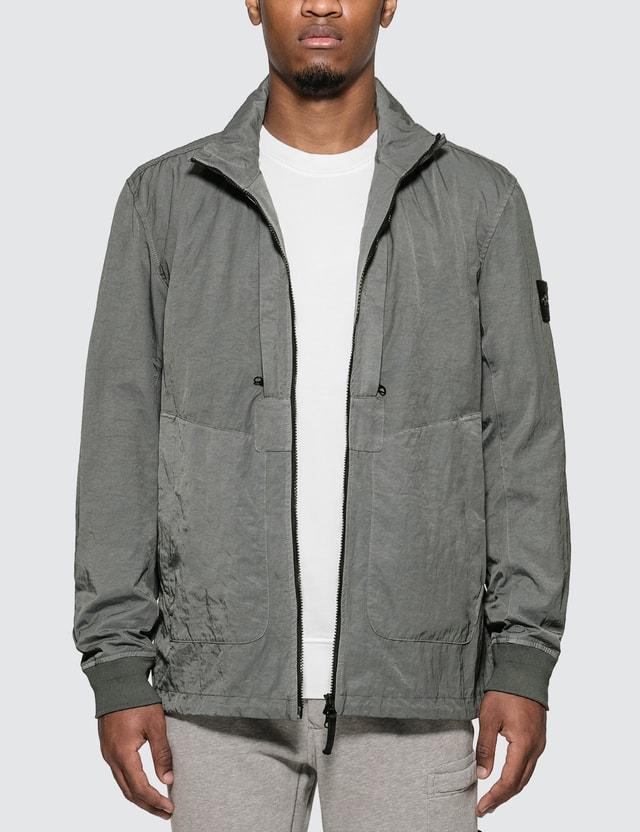 Stone Island Tightly Woven Nylon Twill-TC Jacket