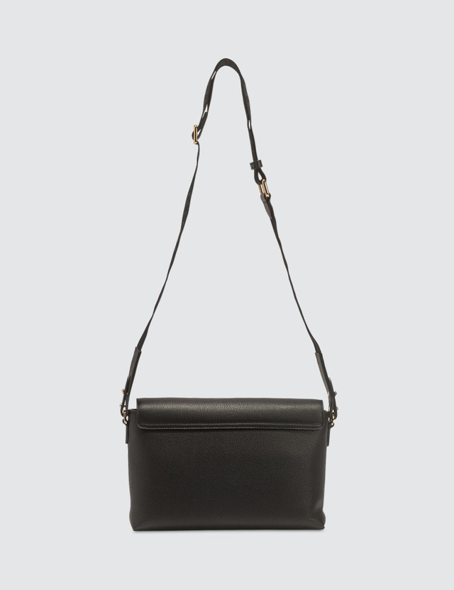 Burberry Leather and Vintage Check Note Crossbody Bag