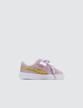 Puma Minions Suede Heart Fluffy Infant Picutre