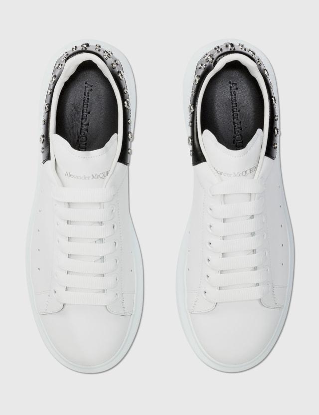 Alexander McQueen Studs Oversized Sneaker White/black Men