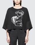 Undercover Girl Graphic Print T-shirt Picture
