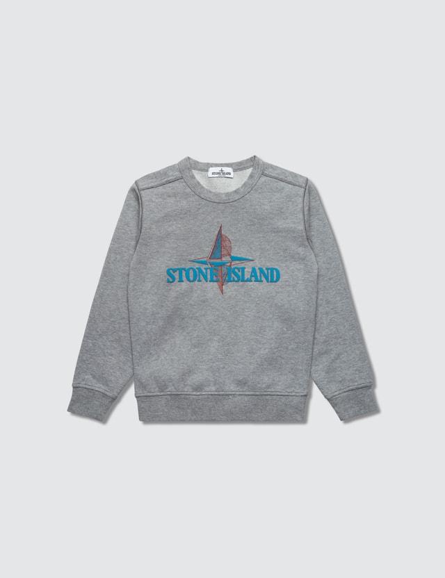Stone Island Sweatshirts (Toddler) Grey Kids