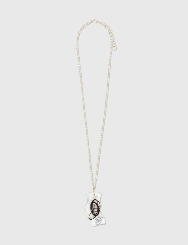 Ader Error Silbare Necklace Silver (silver) Women