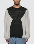 Maison Margiela Numbers Sweatshirt Picture