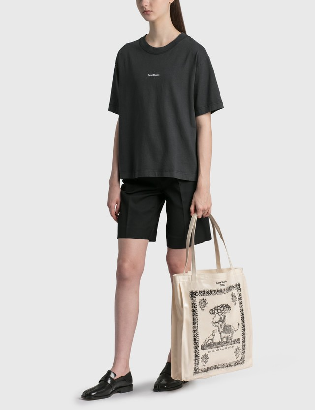 Acne Studios Audrey Tote Bag Coconut White Women
