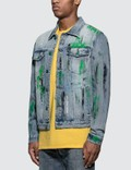 GEO Custom Denim Jacket Blue Men